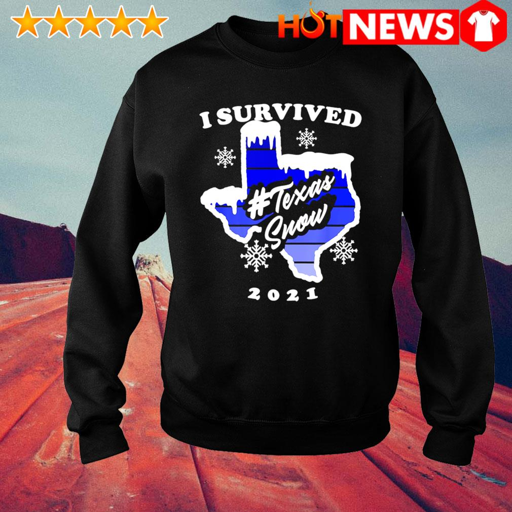 I survived Texas snow 2021 s sweater