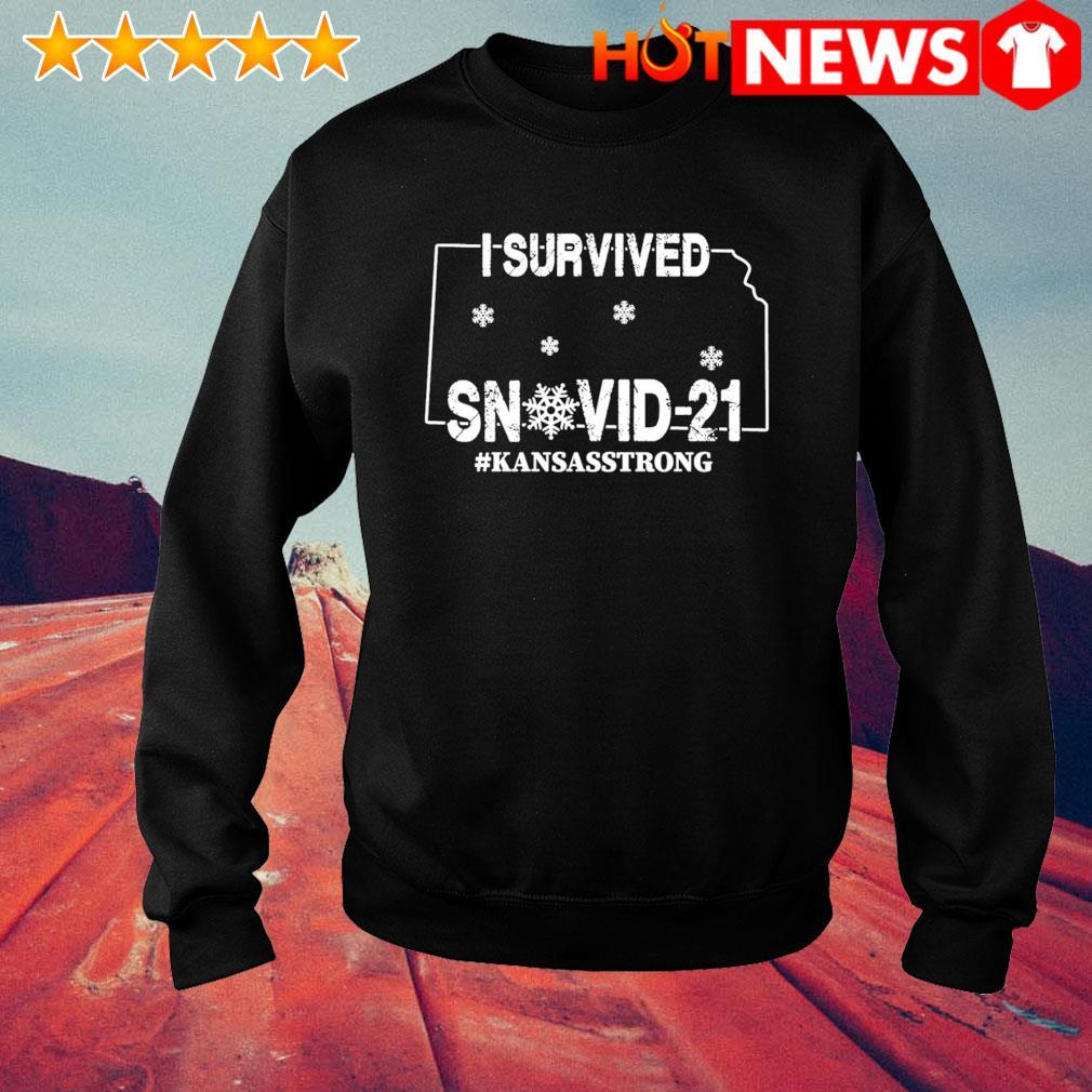 Kansas strong I survived Snovid-21 s sweater