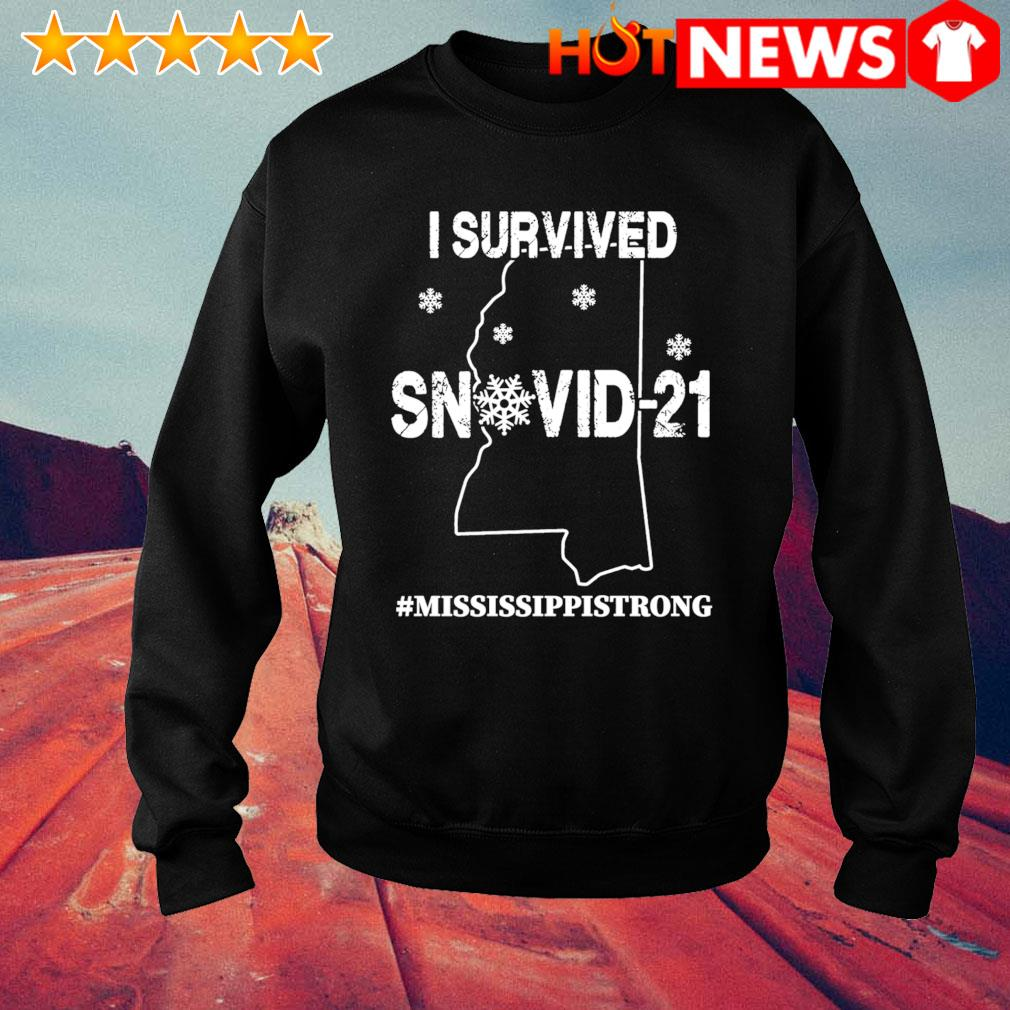 Mississippi strong I survived Snovid-21 s sweater