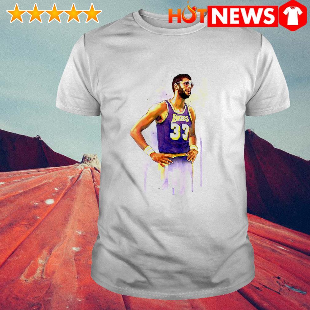 Lakers Kareem Abdul Jabbar 33 shirt
