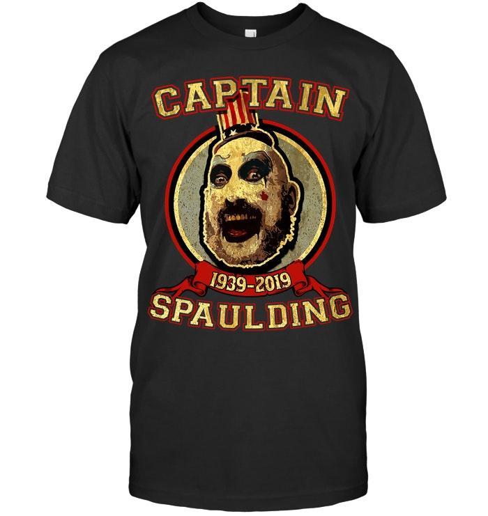 Official Sid Haig Captain Spaulding 1939 2019 Shirt