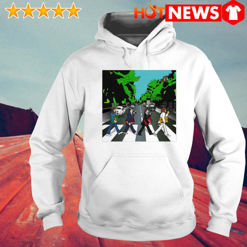 The Big Four Abbey Road s 6 HNT Hoodie White