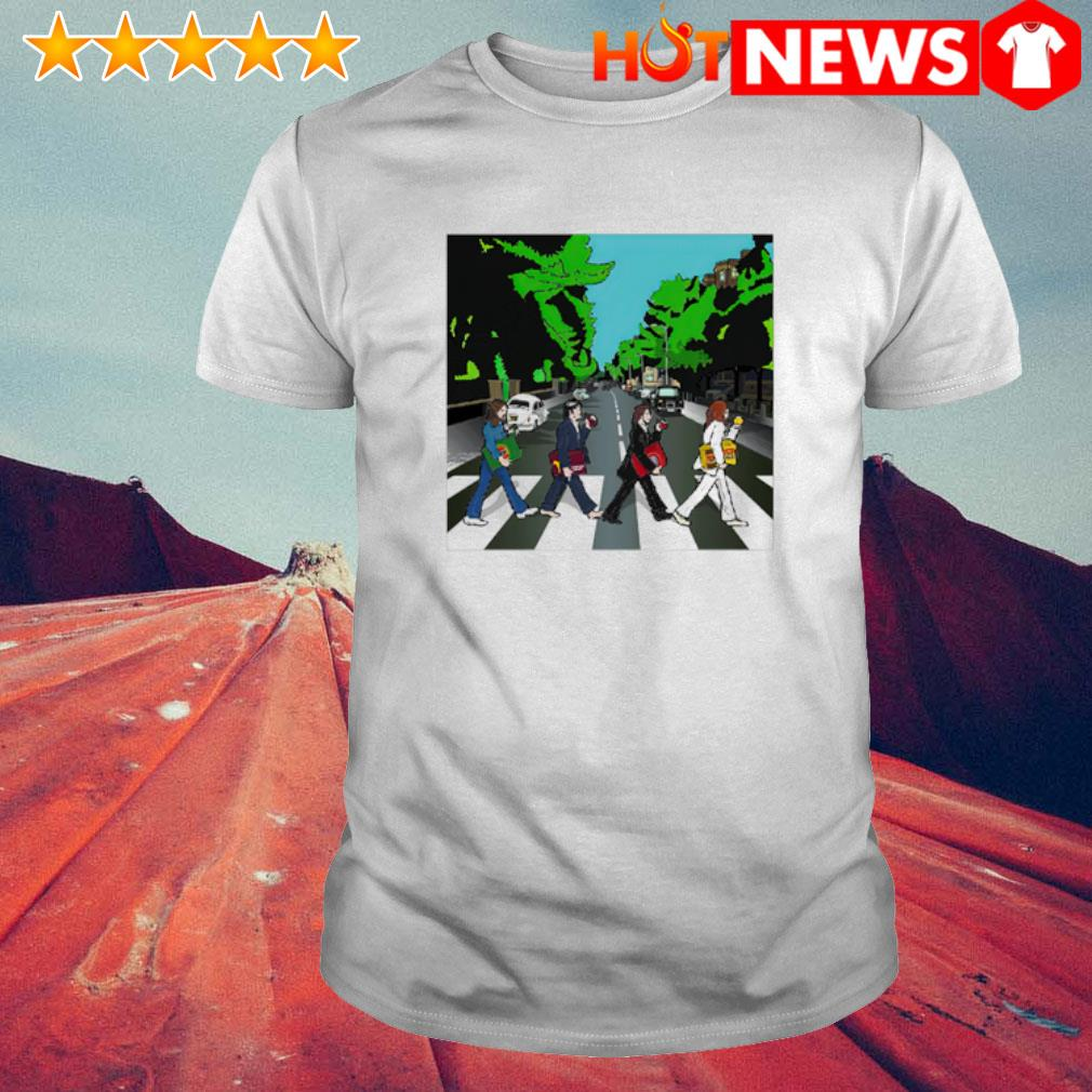The Big Four Abbey Road shirt
