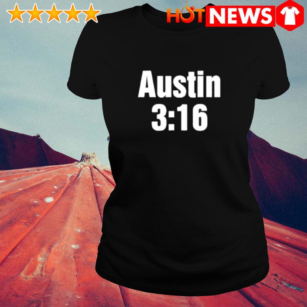 WWE Stone Cold Steve Austin 3 16 s ladies-tee