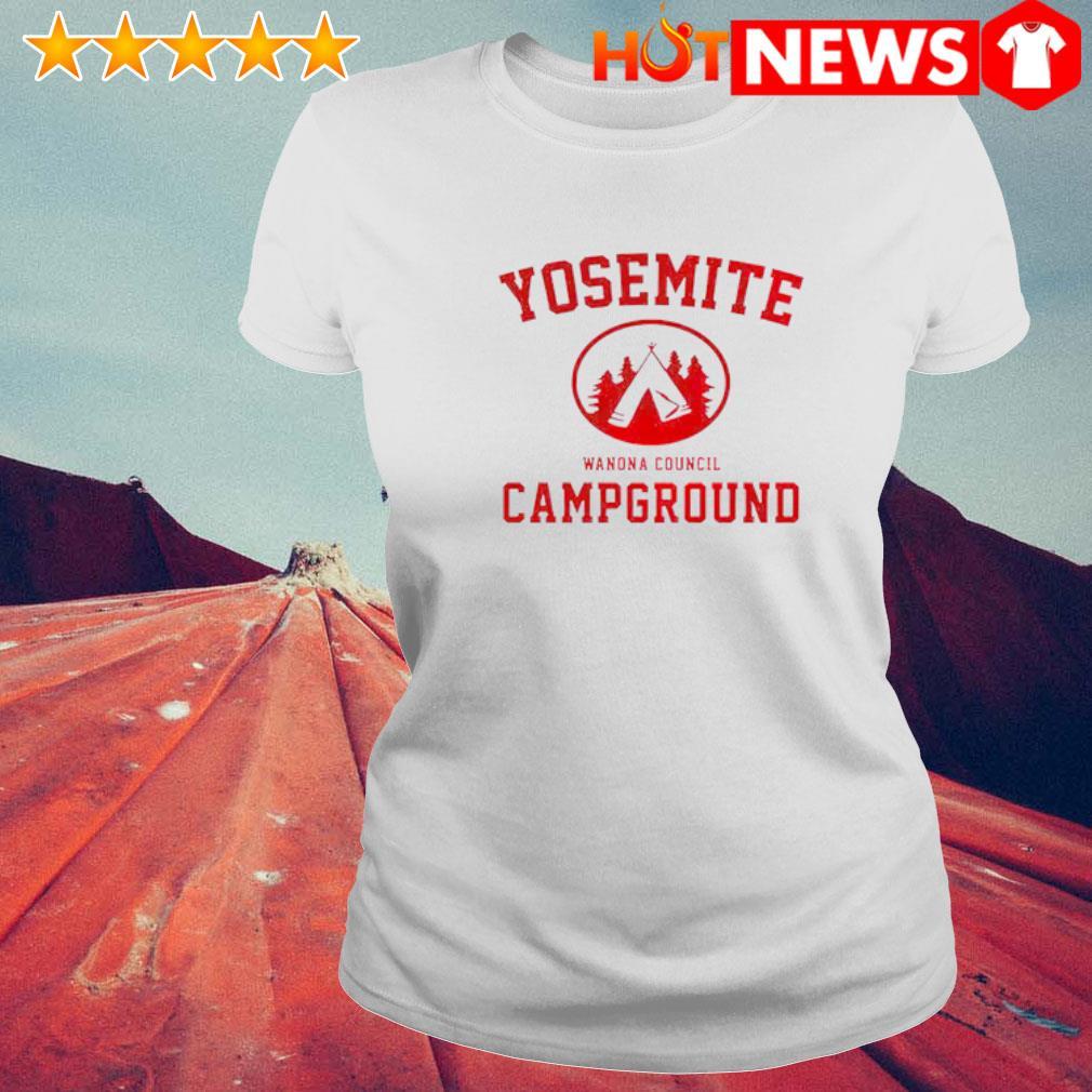 Yosemite Campground Wanona Council s 6 HNT Ladie White