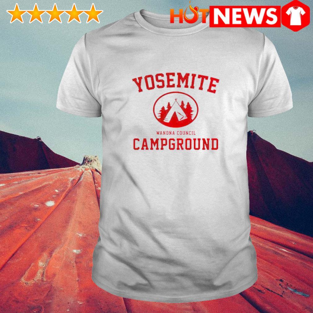 Yosemite Campground Wanona Council shirt