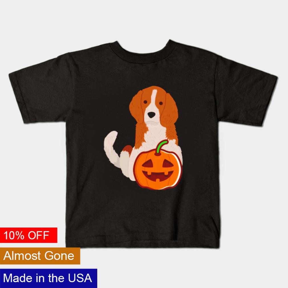Beagle dog pumpkin Halloween shirt