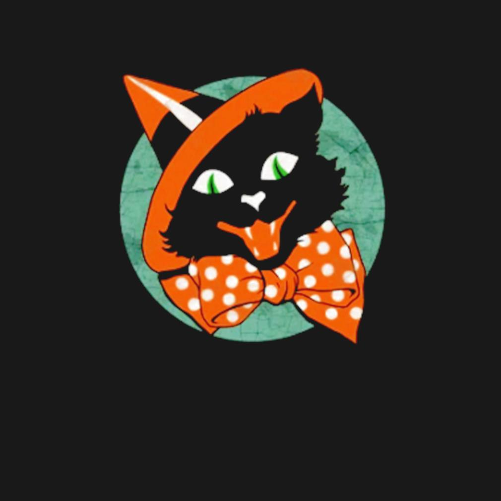 Black Cat Witch Halloween s t-shirt