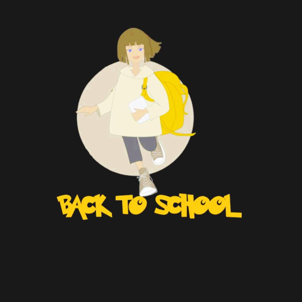 Girls back to school s t-shirt