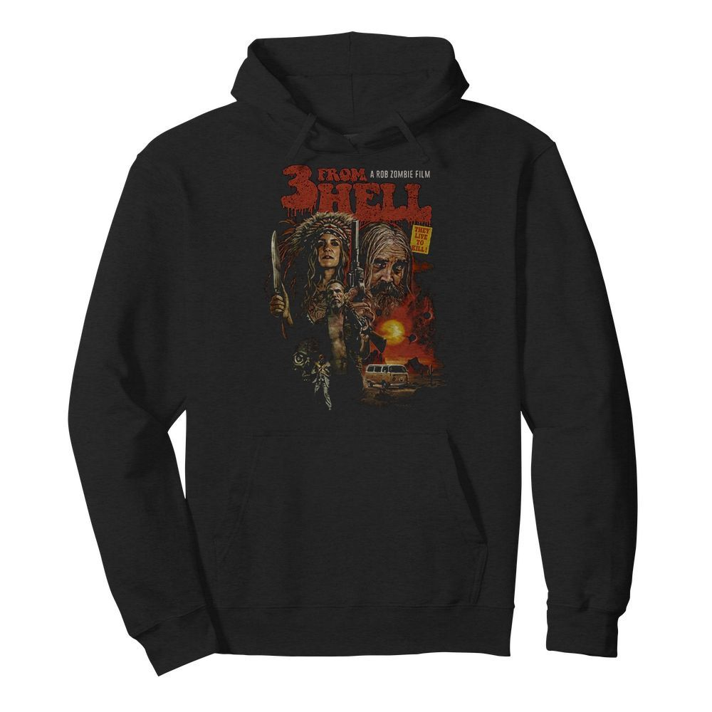 3 From Hell Movie Hoodie