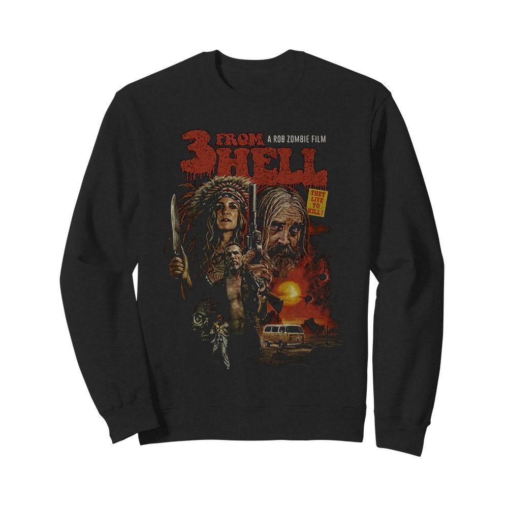 3 From Hell Movie Sweater