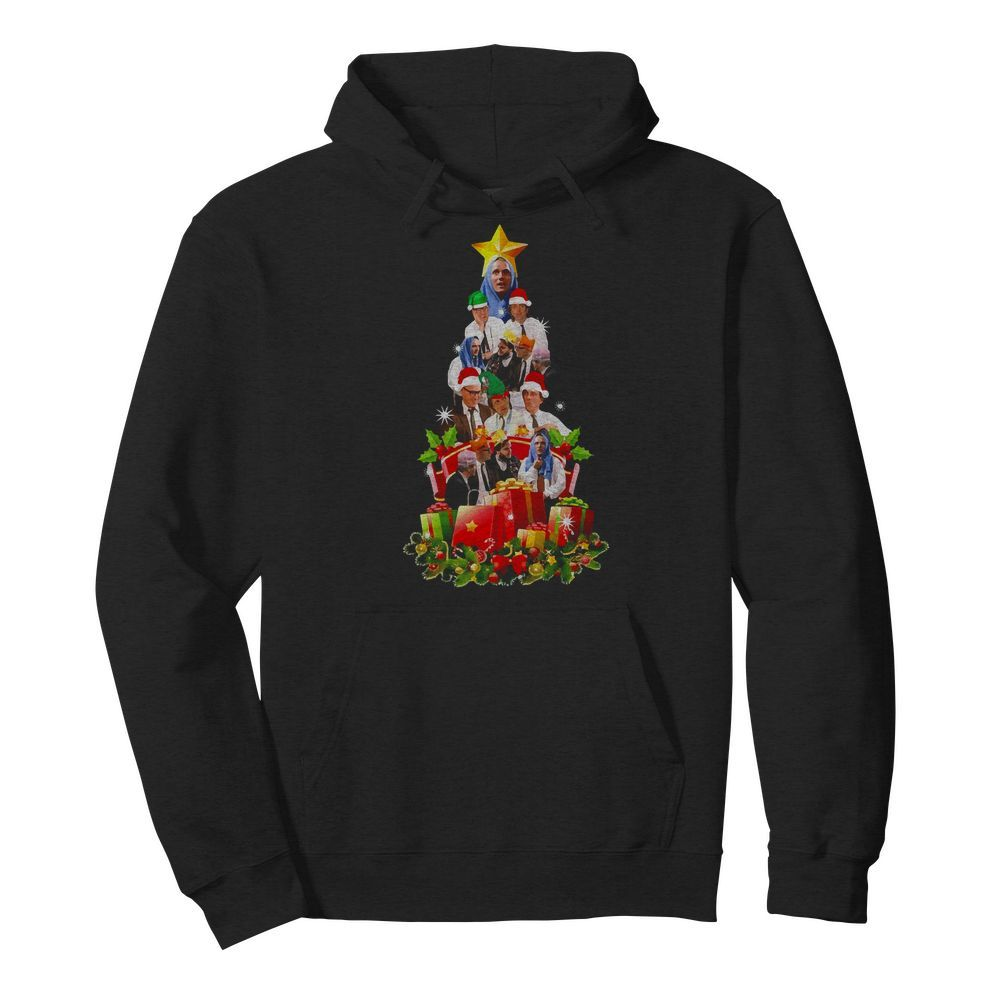 Official Bottom TV Show Xmas Tree Hoodie