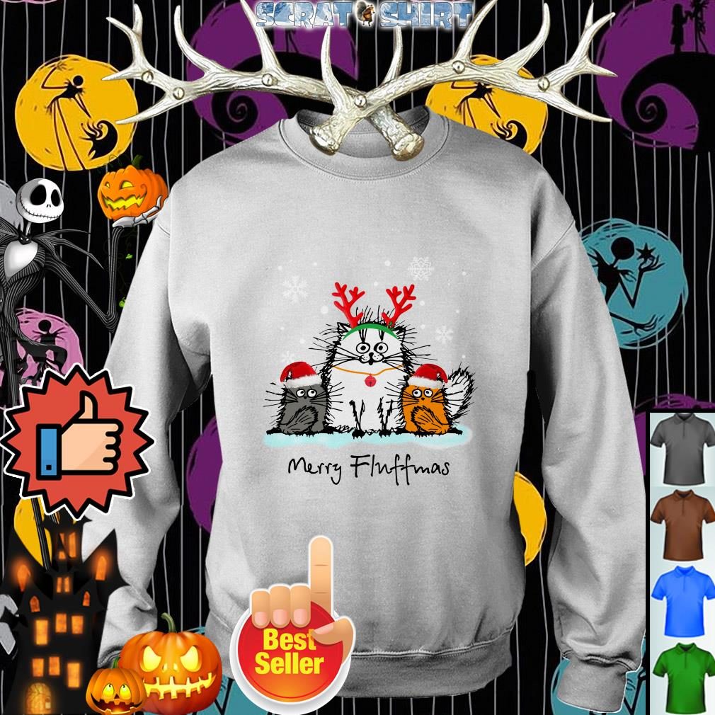 Cat Merry Fluffmas Christmas sweater, shirt