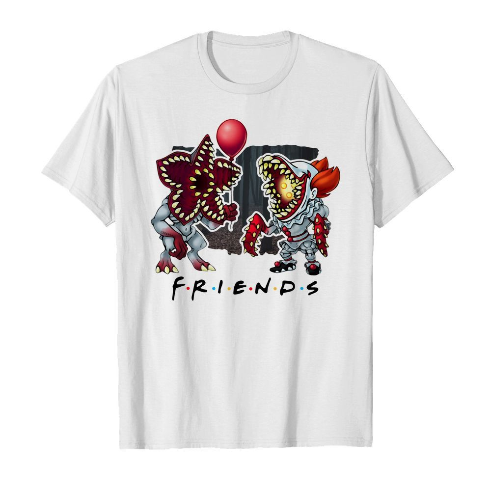 Official Demogorgon IT Pennywise Friends shirt