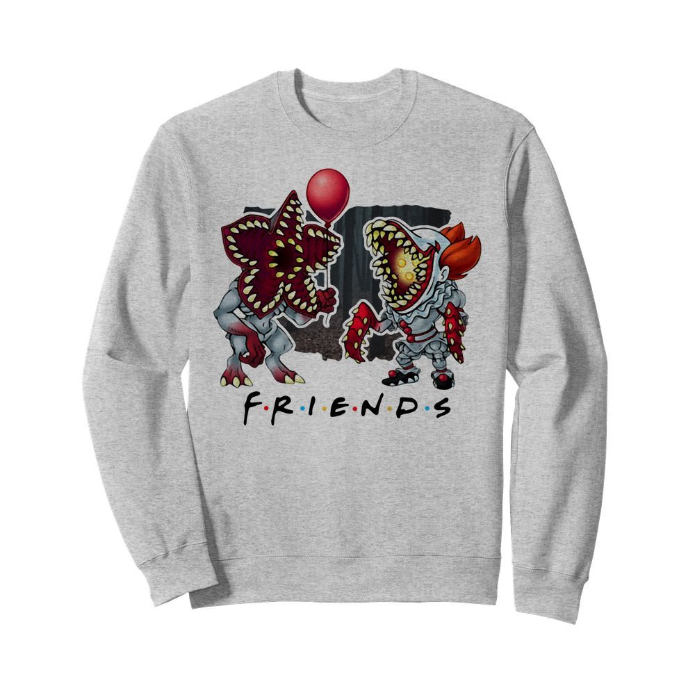 Official Demogorgon IT Pennywise Friends Sweater