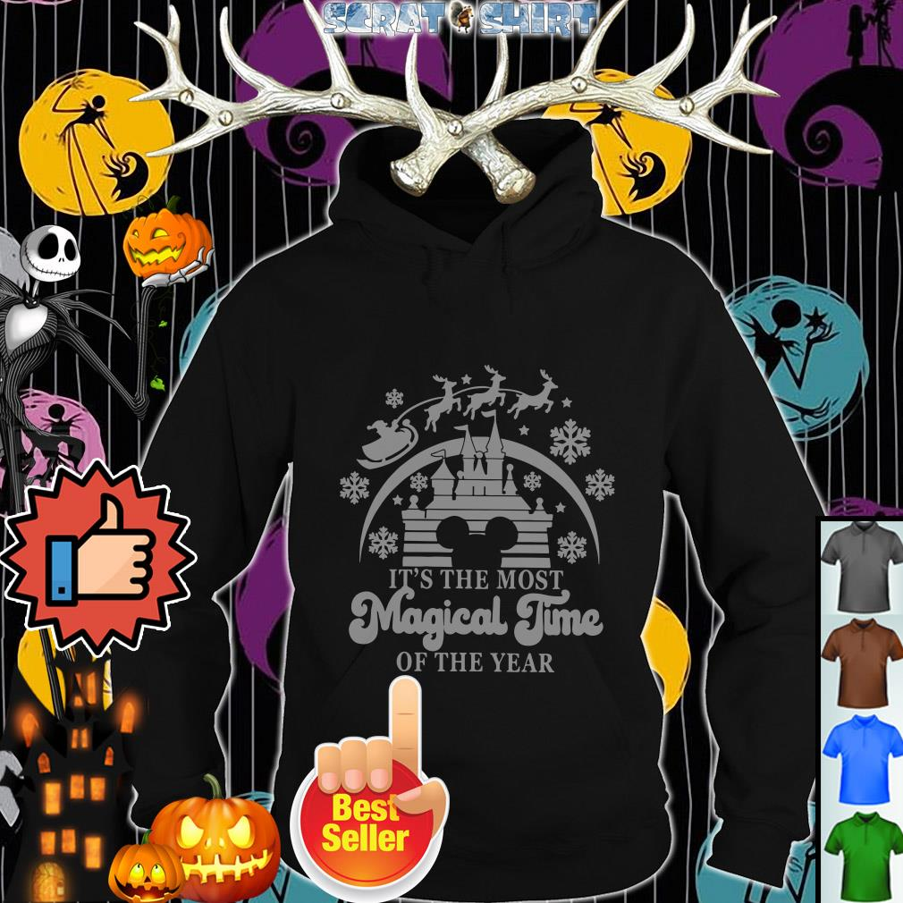 Official Disney It's the most magical time of the year Christmas ugly Hoodie