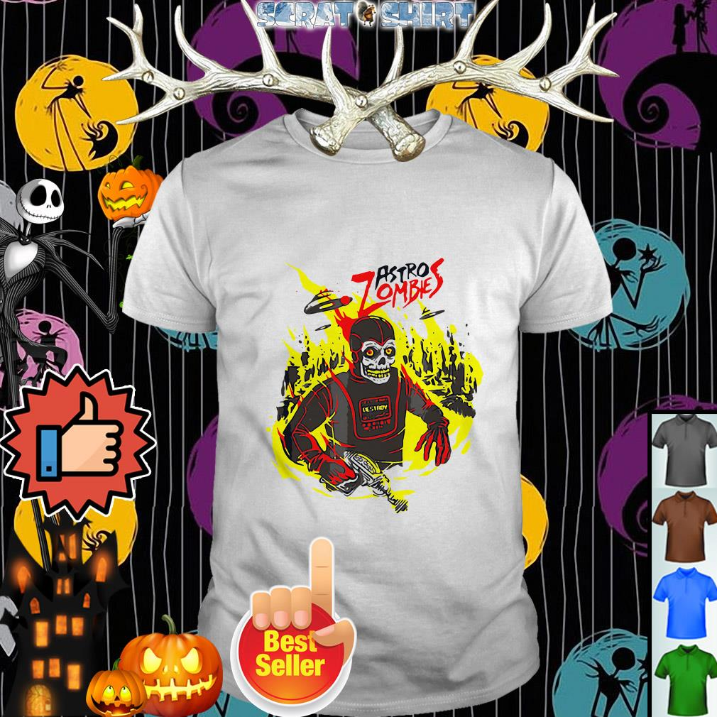 Official Halloween Astro Zombies Monster Sci-fi Gift Skate Shirt