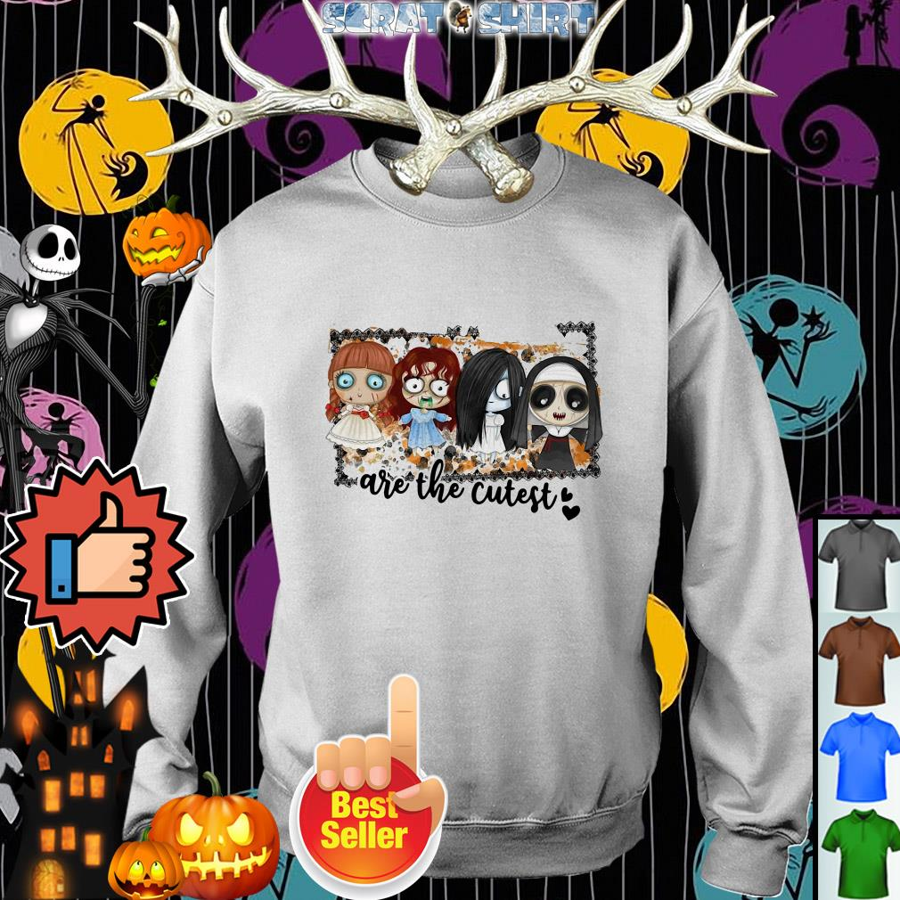 Horror Movies Creepy Girl Are The Cutest Halloween Sweater