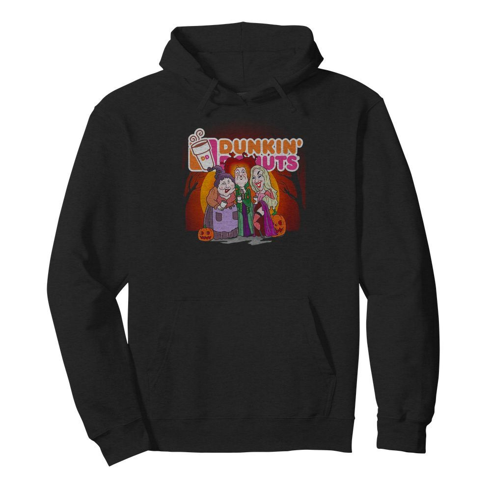 Official Sanderson Sisters Hocus Pocus Dunkin' Donuts Hoodie