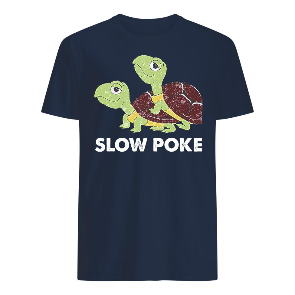 Official Slow Poke Funny Turtle Shirt