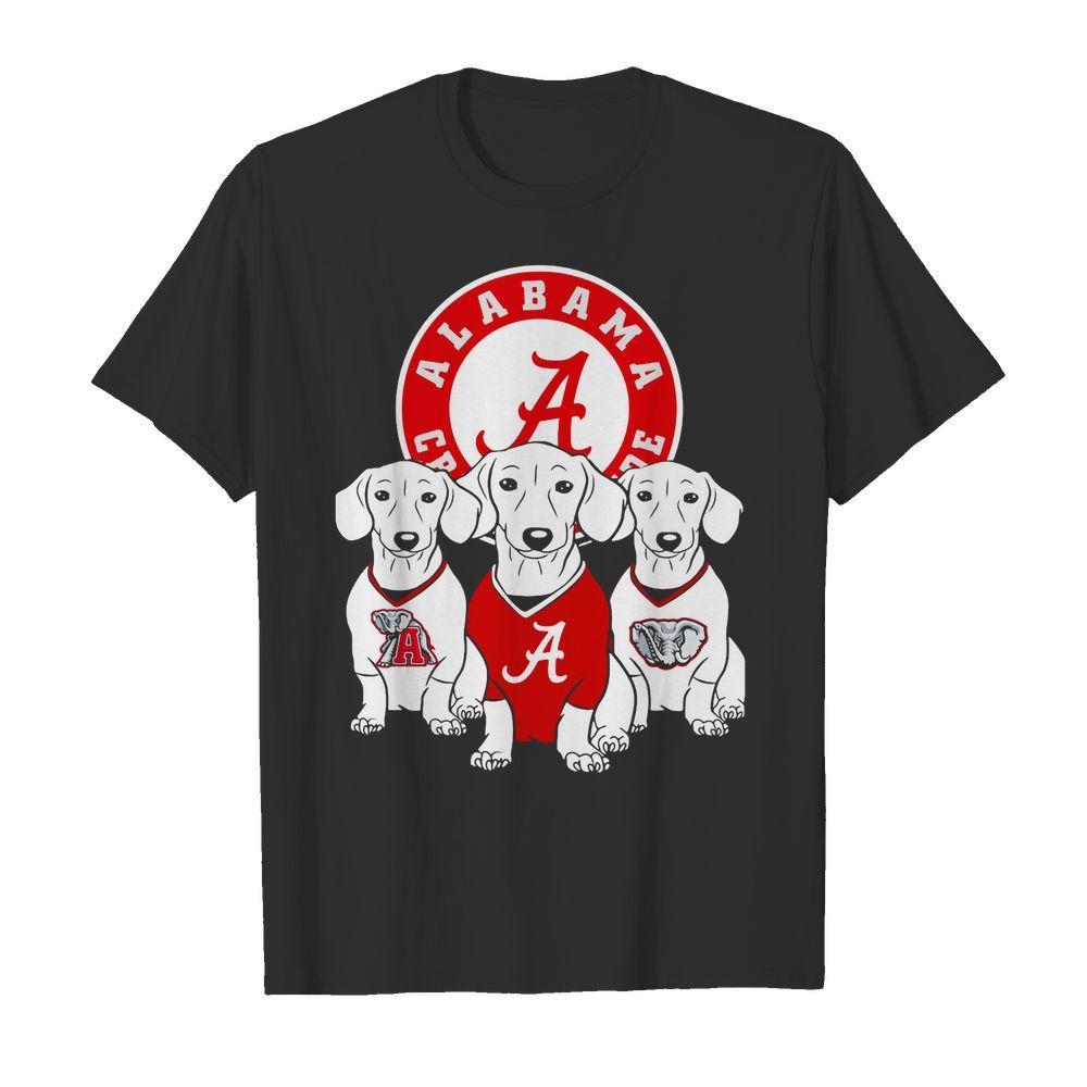 Official Alabama Crimson Tide Dachshund dog shirt