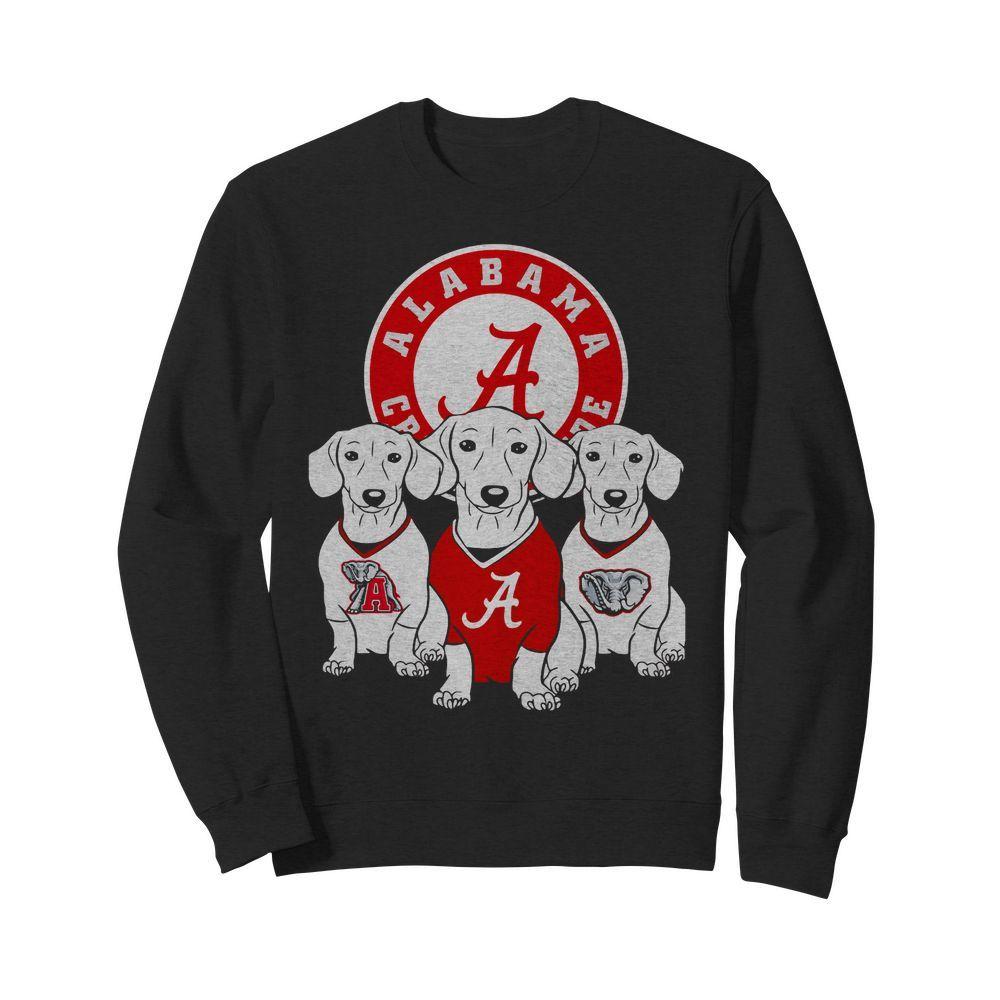 Official Alabama Crimson Tide Dachshund dog Sweater