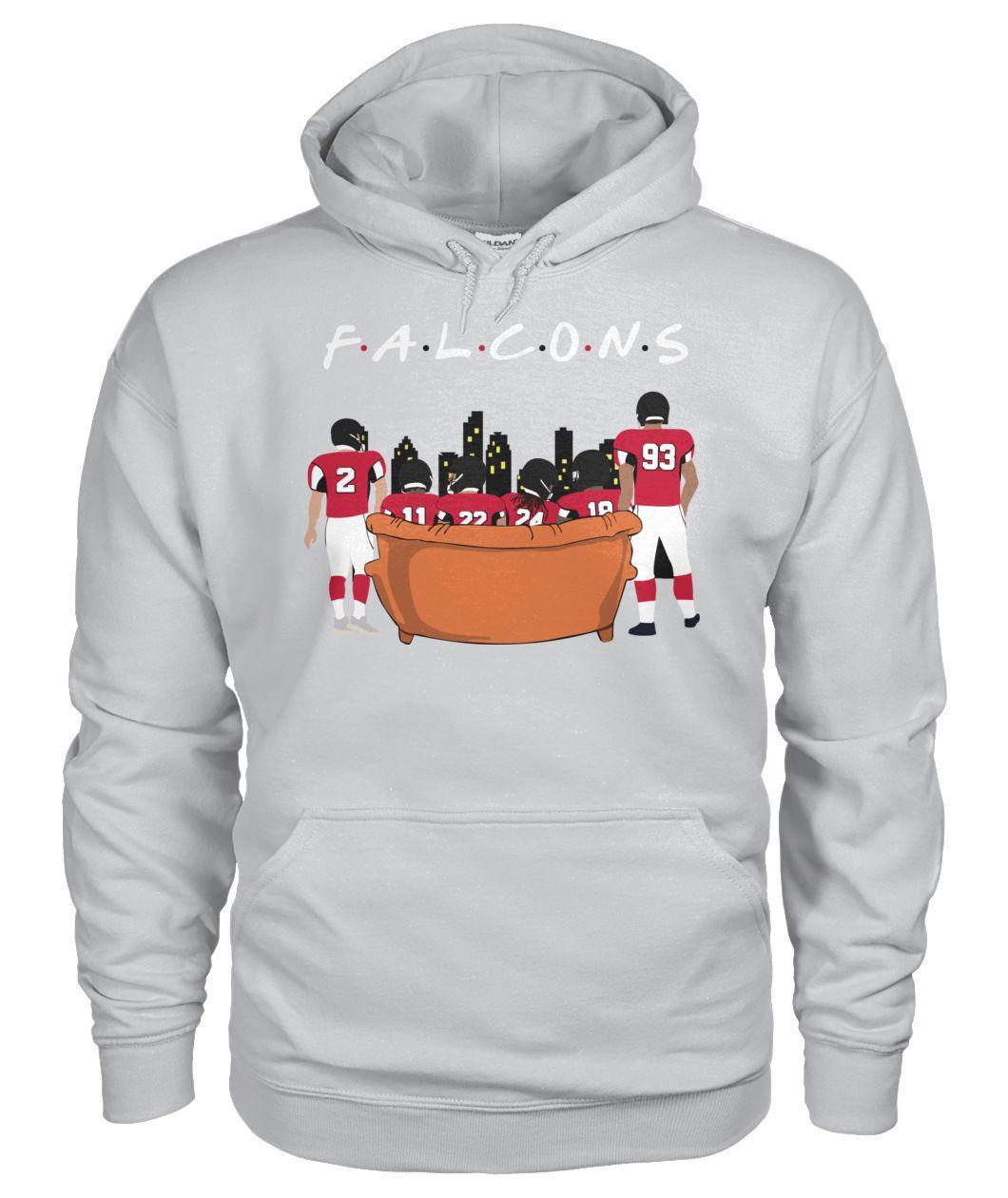 Official Atlanta Falcons Friends TV Show Hoodie