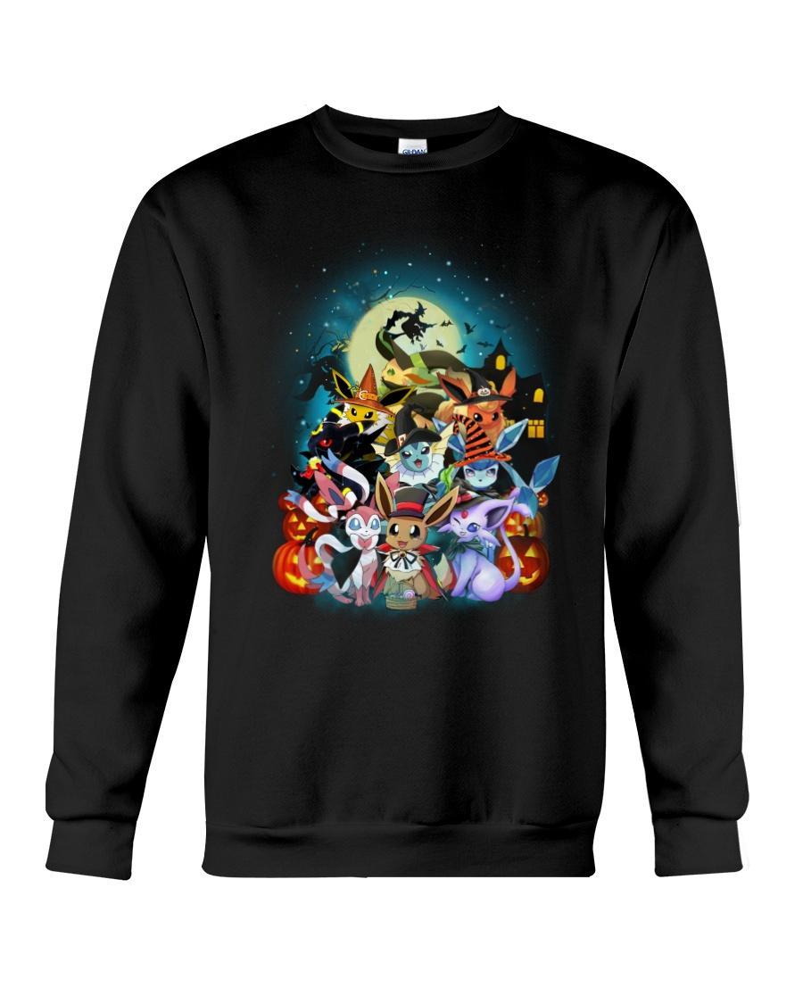 Official Eevee Halloween Pokemon Sweater