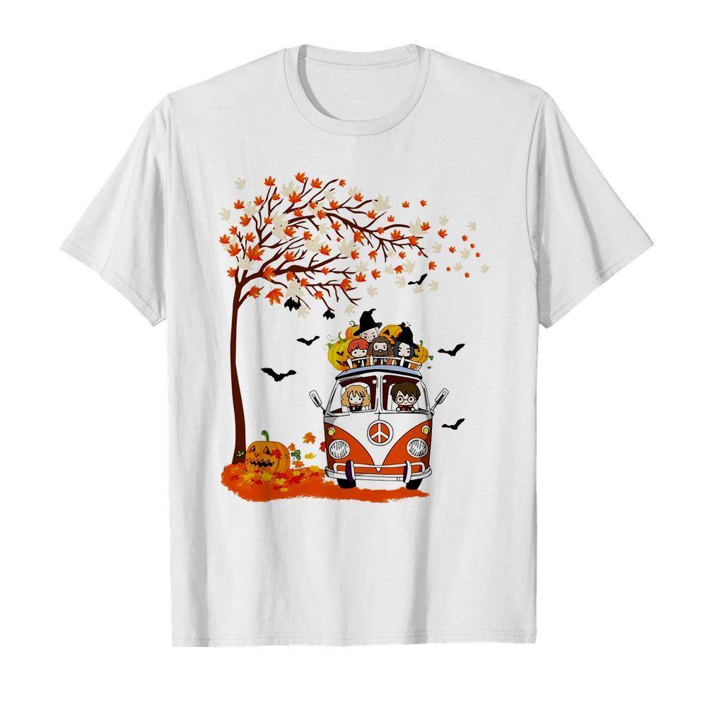 Official Harry Potter Hippie Bus Autumn Halloween shirt