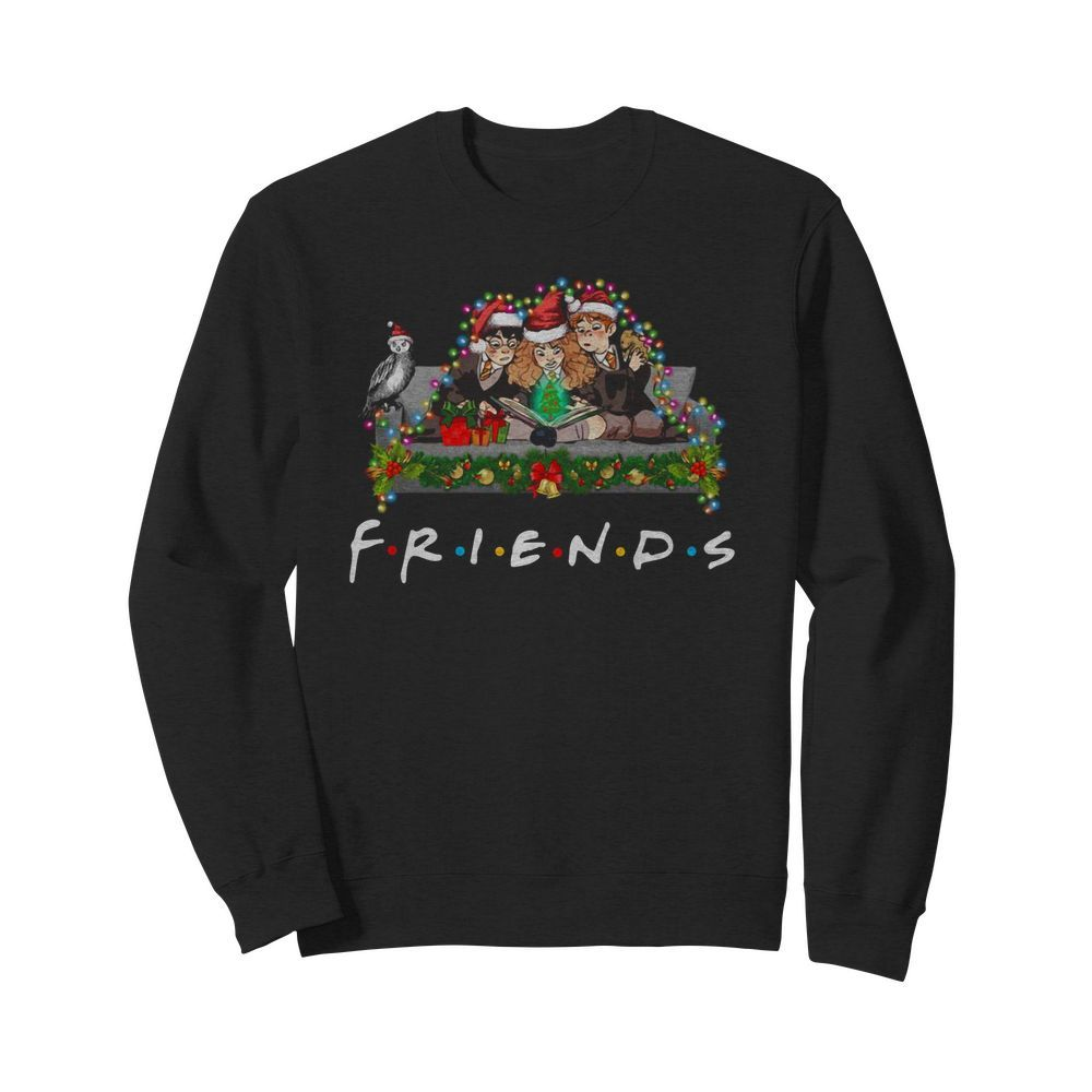 Official Harry Potter Ron And Hermione Friends Christmas Light Sweater