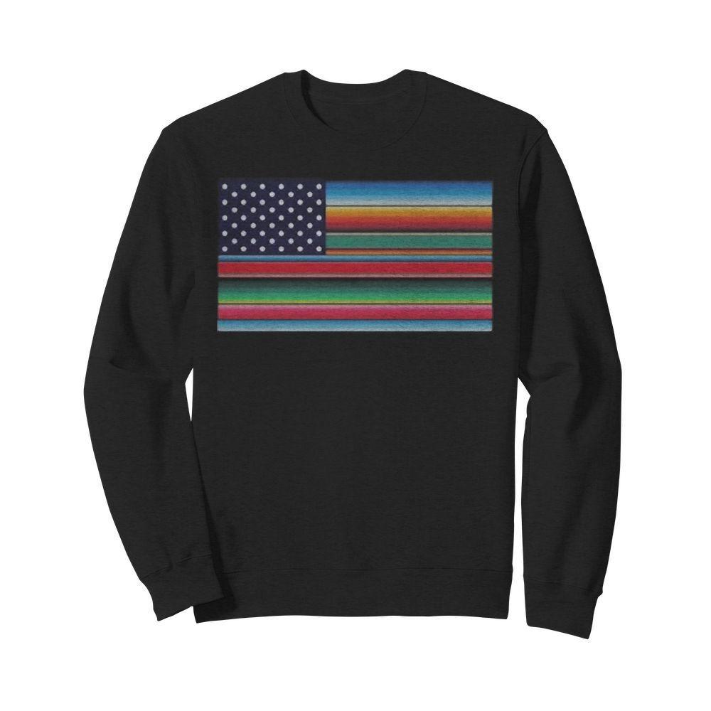LGBT Rainbow Flag USA Sweater