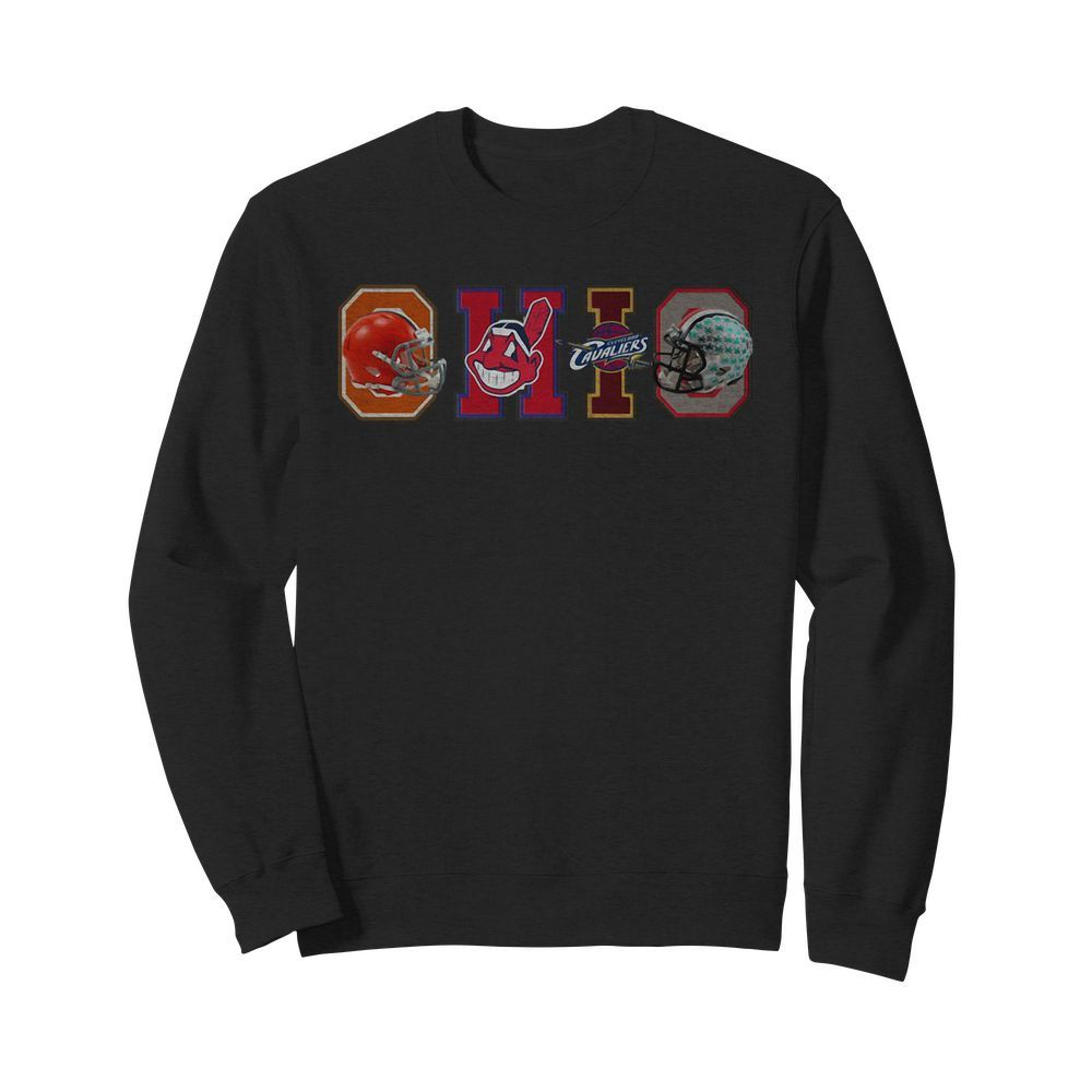 Cleveland Browns Christmas Sweater.Official Ohio Cleveland Sport Teams Cleveland Browns Cleveland Indians Cleveland Shirt