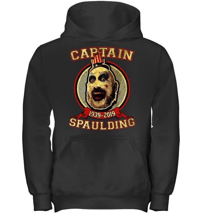 Official Sid Haig Captain Spaulding 1939 2019 Hoodie