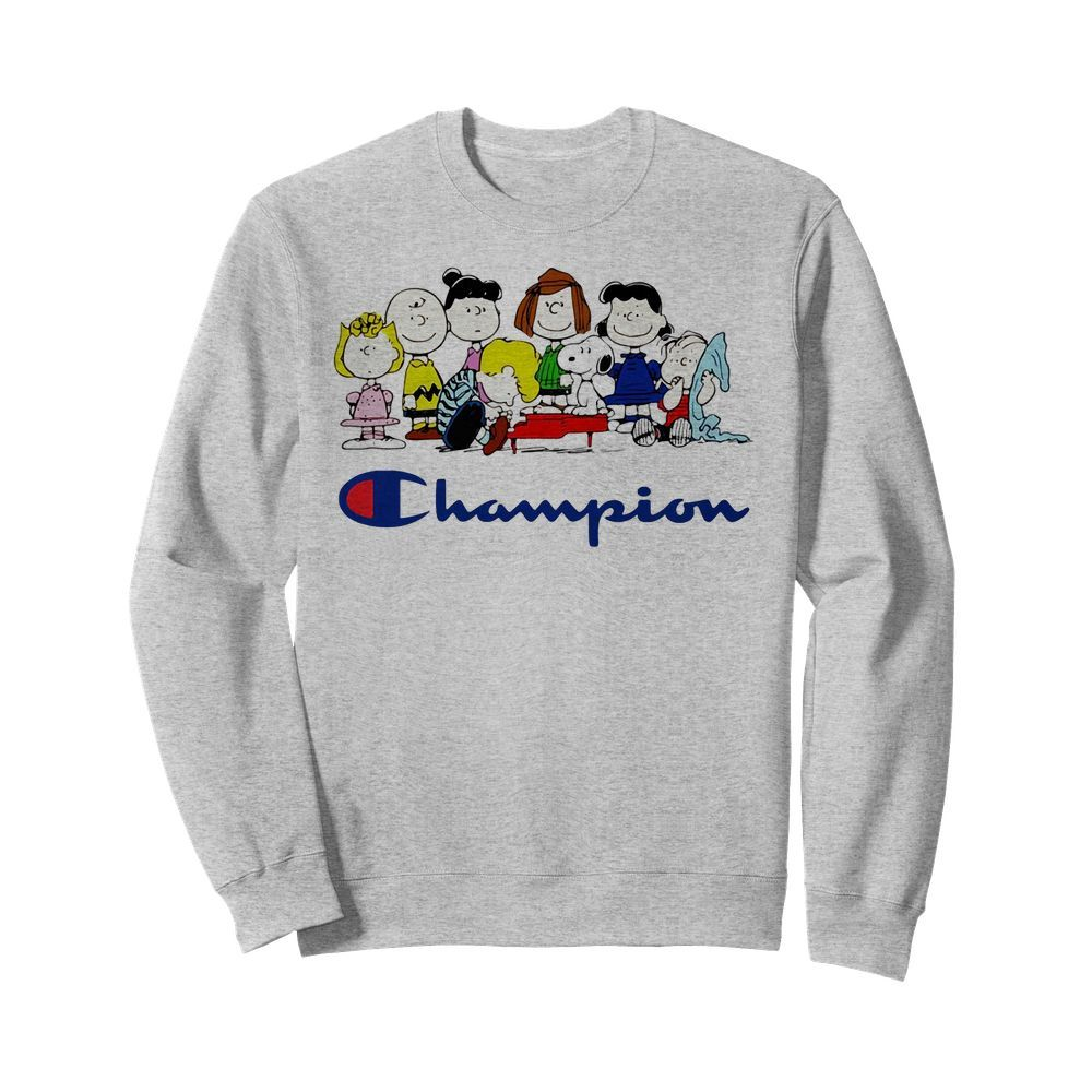 Official Snoopy Charlie Brown and friends Peanuts champion Sweater