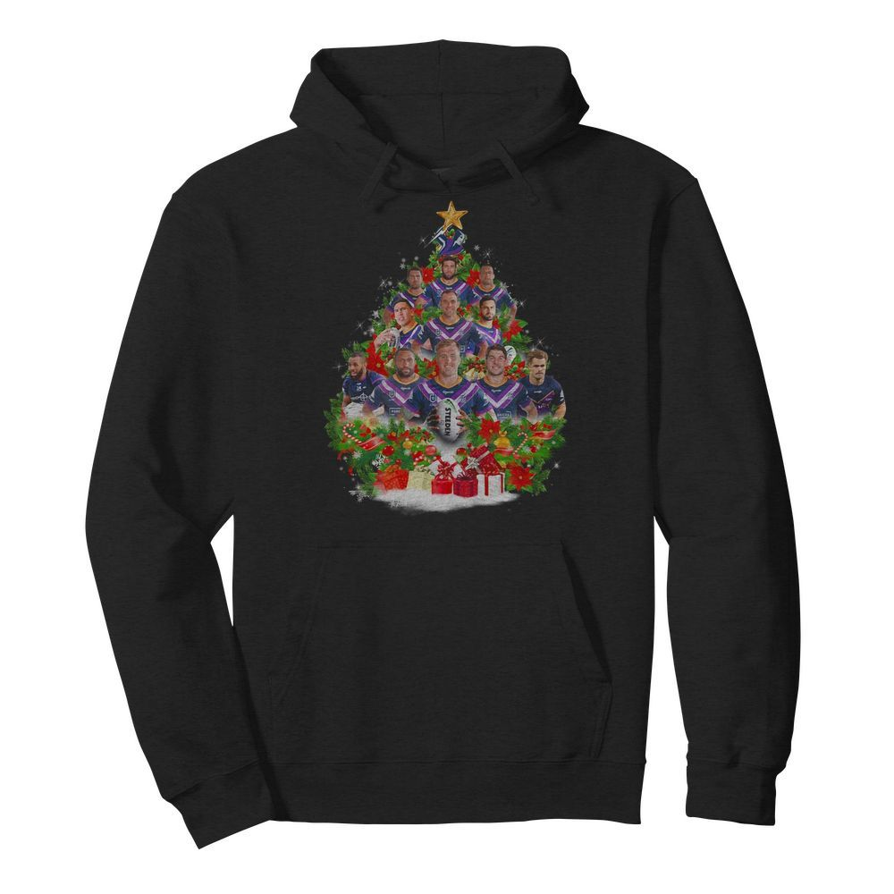 Steeden player tree Christmas Hoodie