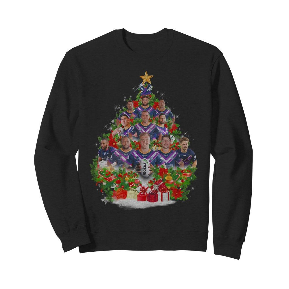 Steeden player tree Christmas Sweater