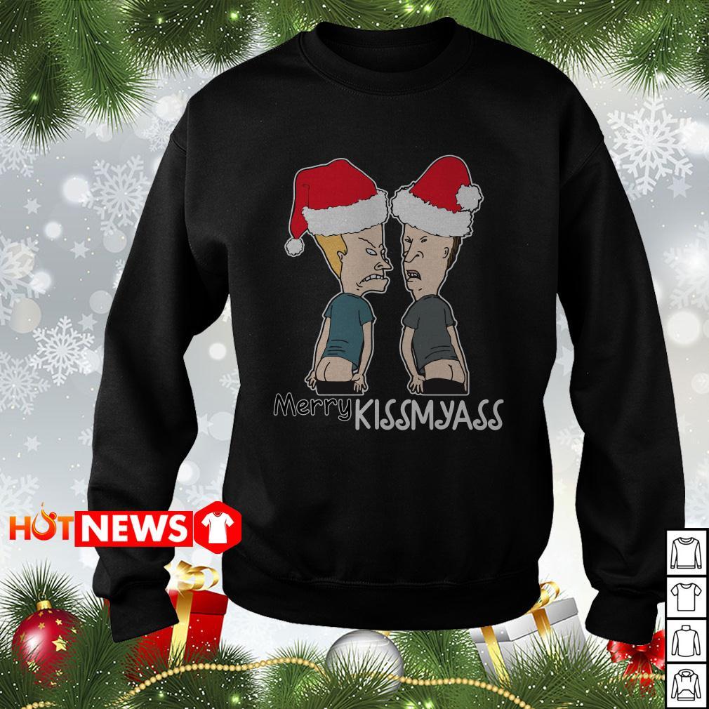 Beavis and Butt-Head Merry Kissmayass sweater