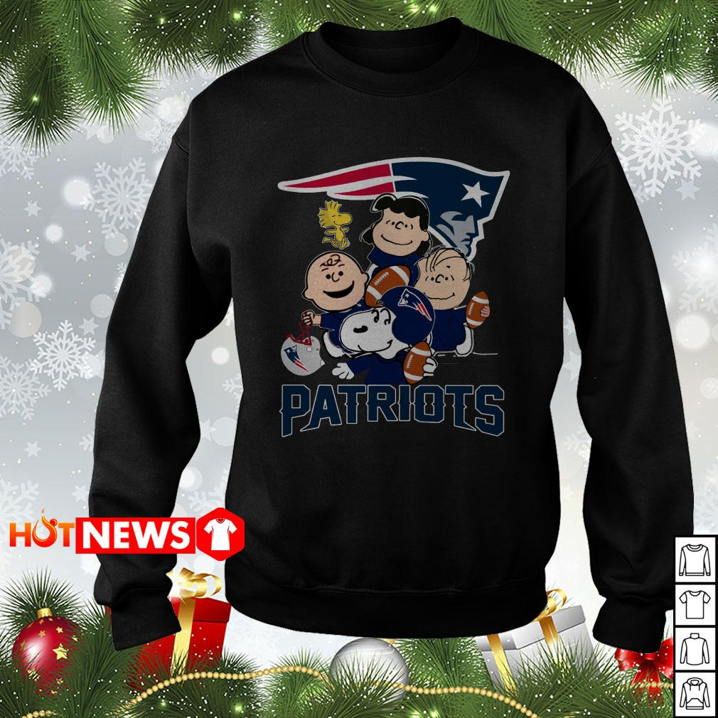 Charlie Brown Peanuts New England Patriots Sweater