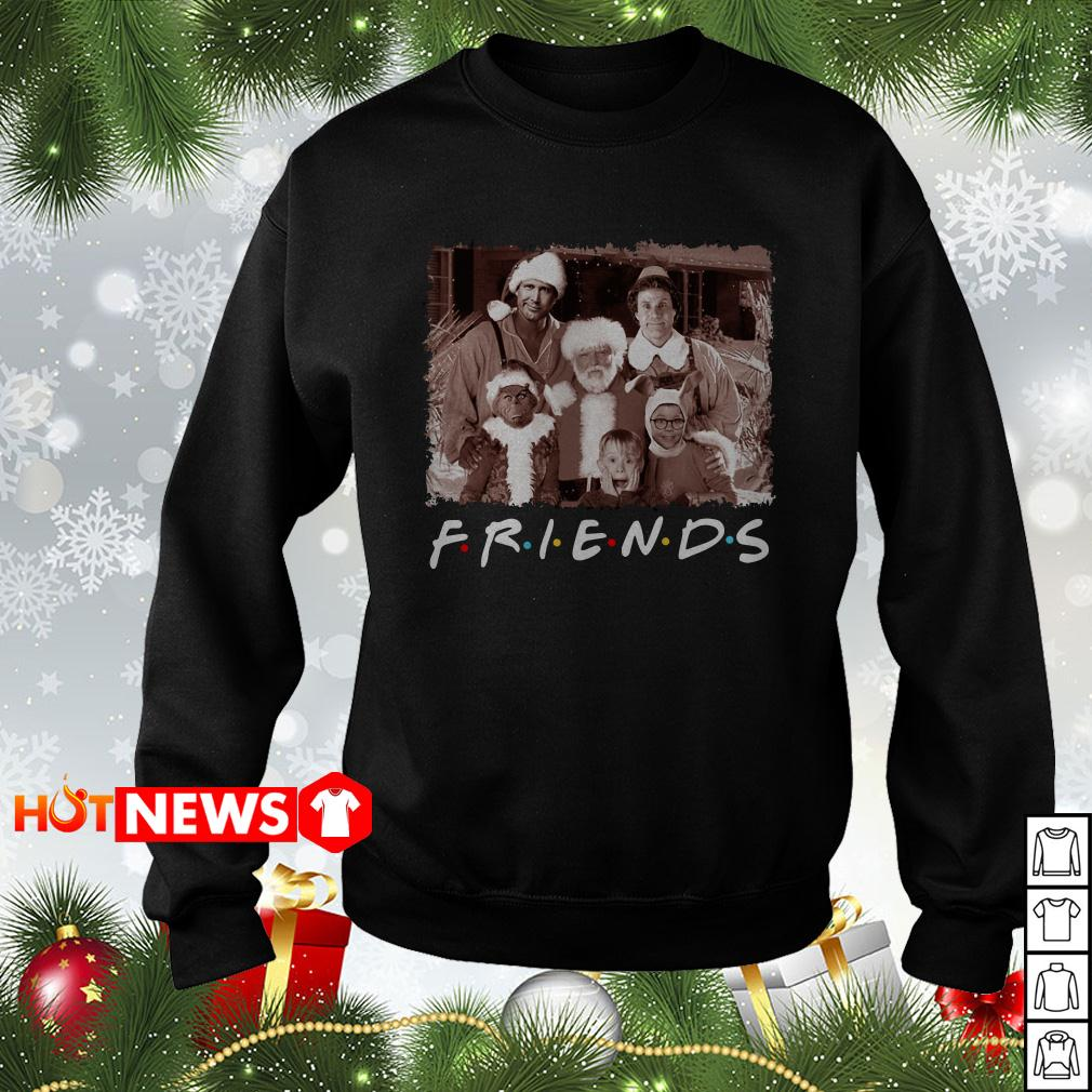 Christmas Movies Friends TV Show sweater