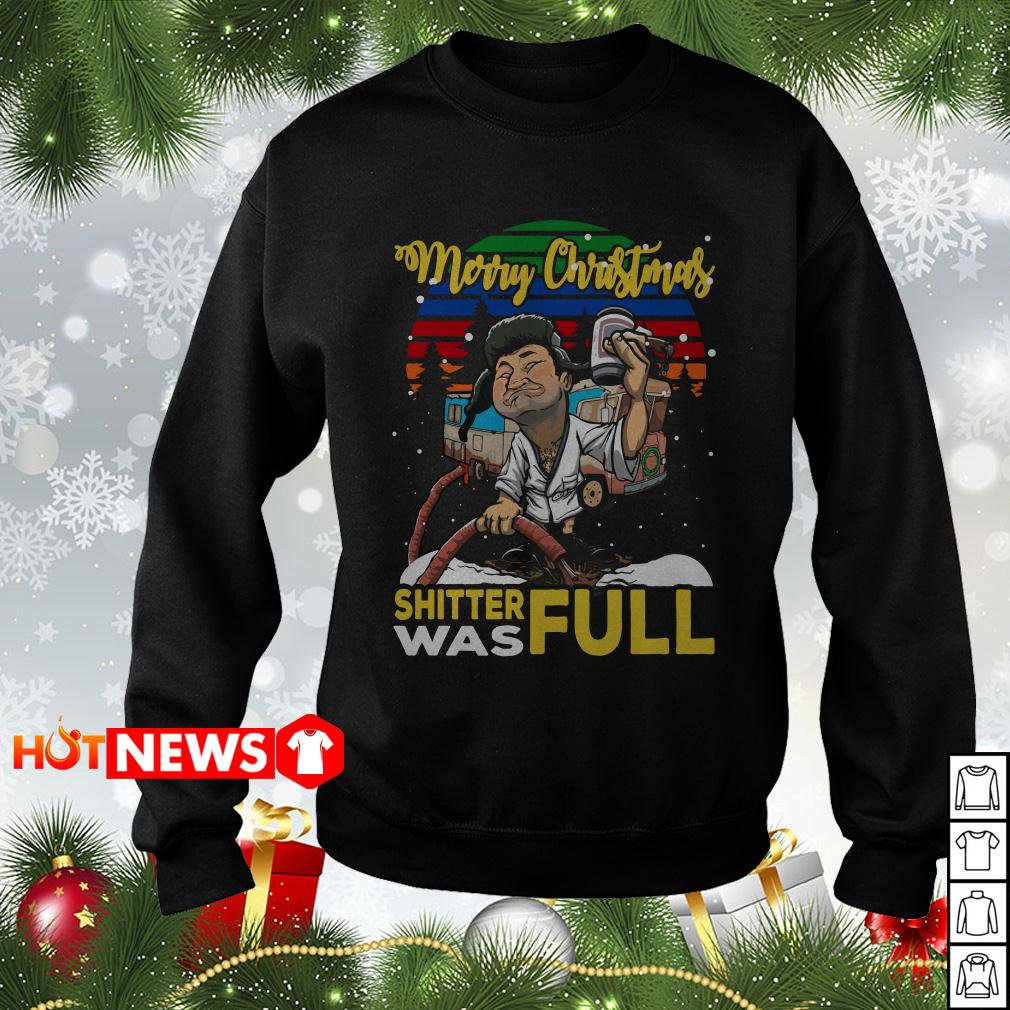 Cousin Eddie Merry Christmas shitter was full sweater