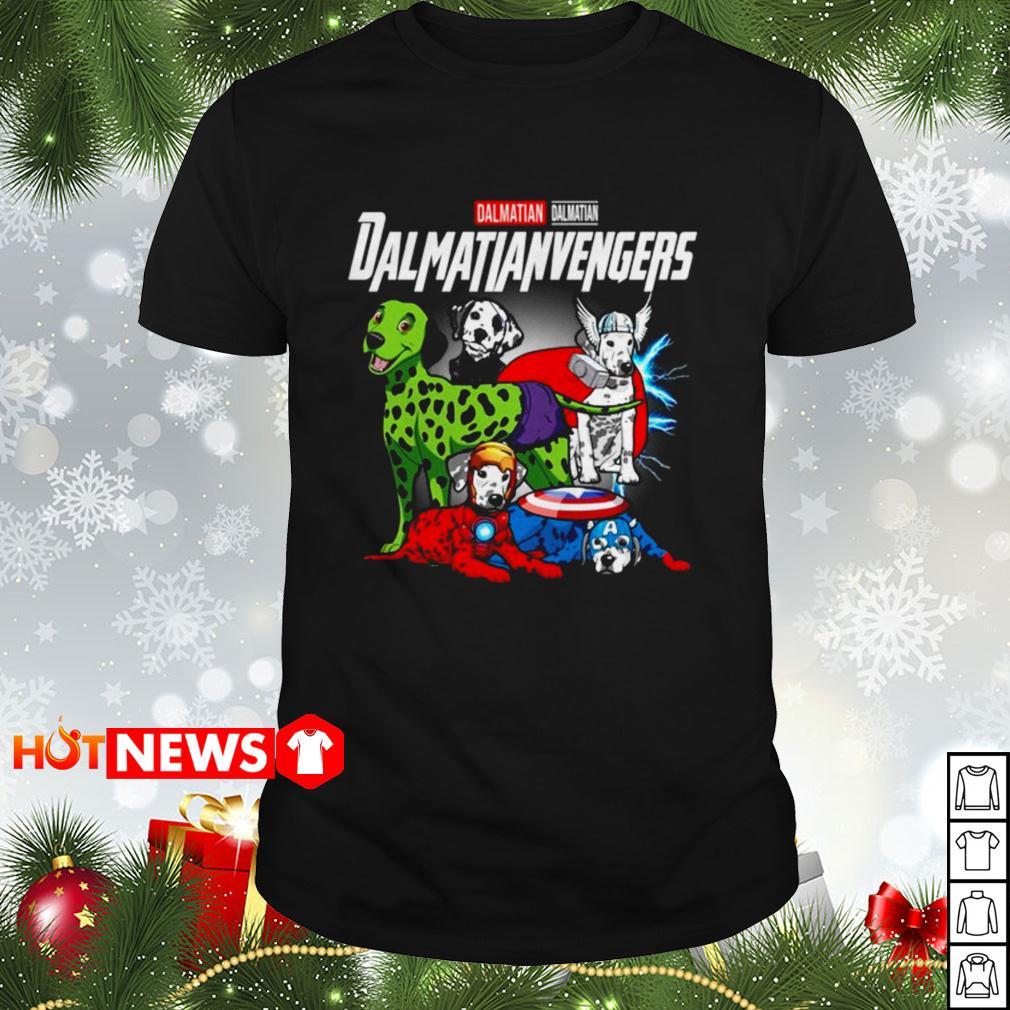 Dalmatian Dalmatianvengers Avengers Endgame shirt