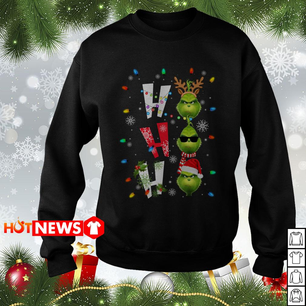 Ho Ho Ho Merry The Grinch Christmas sweater