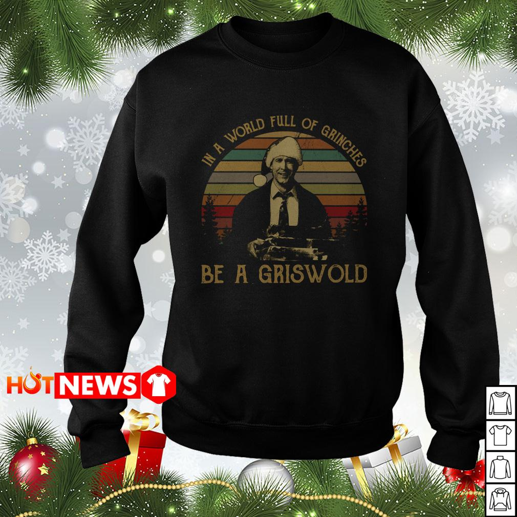 In a world full of grinches be a Griswold vintage Christmas sweater