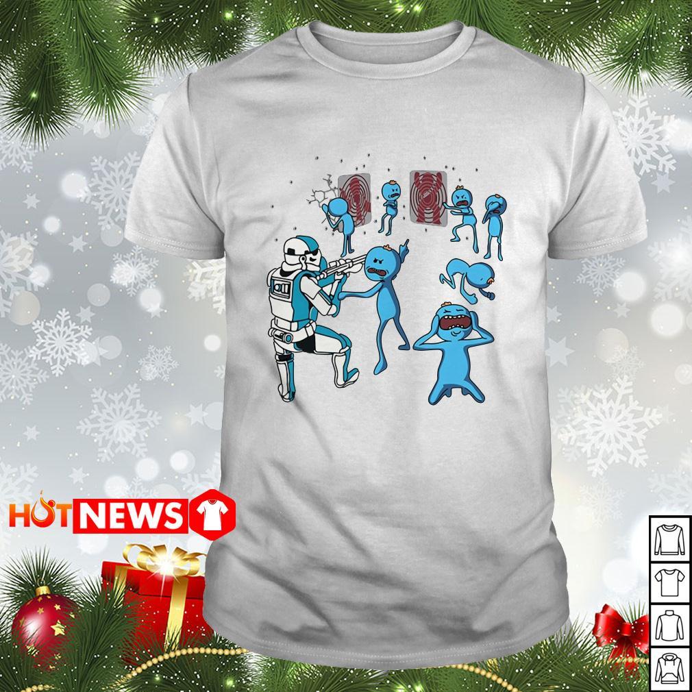Star Wars Mr Meeseeks and Stormtrooper shirt