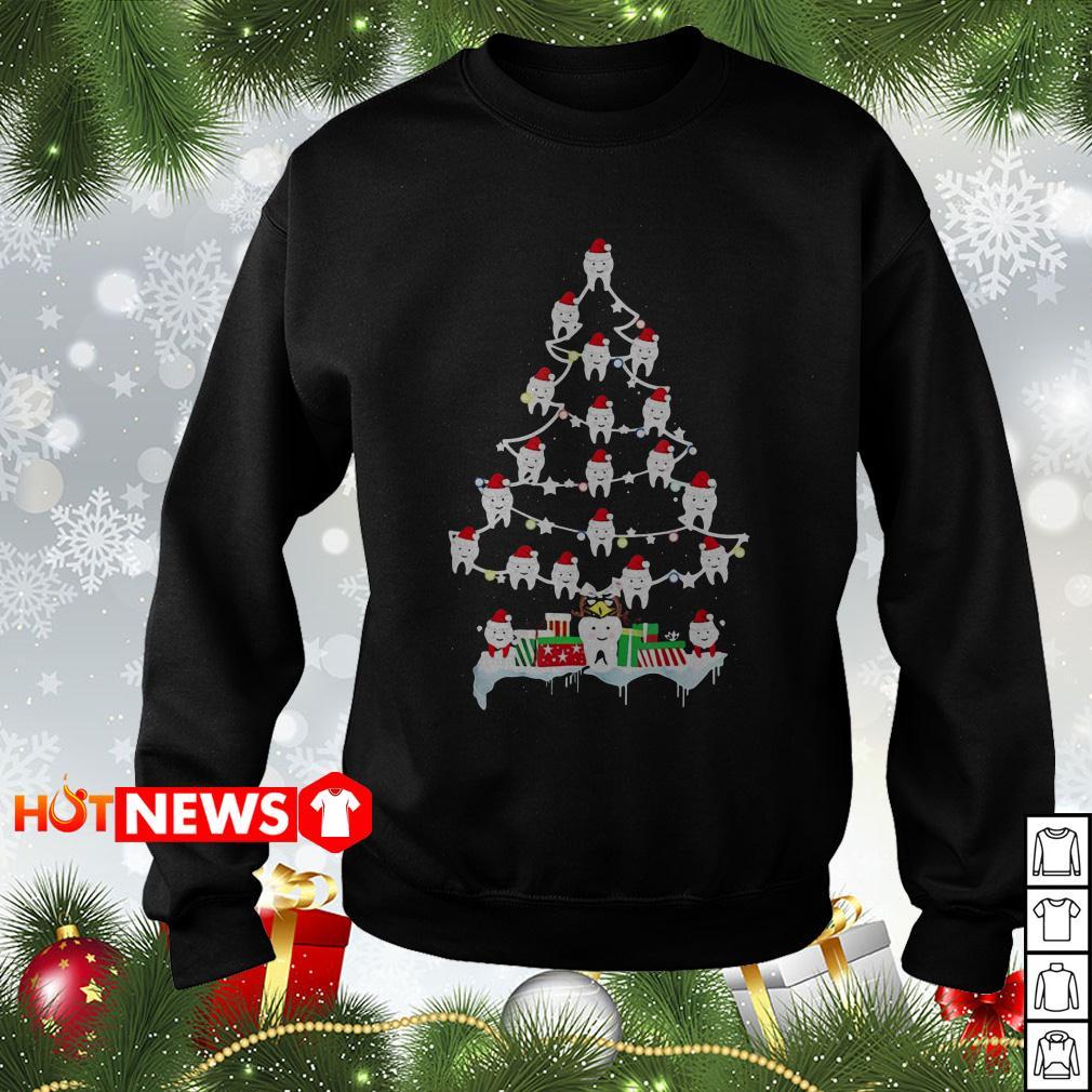 Teeth Christmas Tree sweater