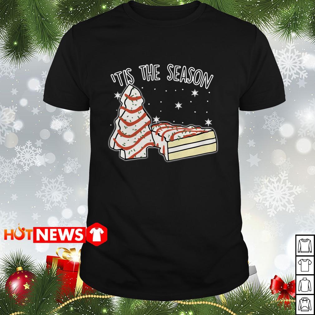 'tis The Season little Debbie Inspired Christmas Guys shirt