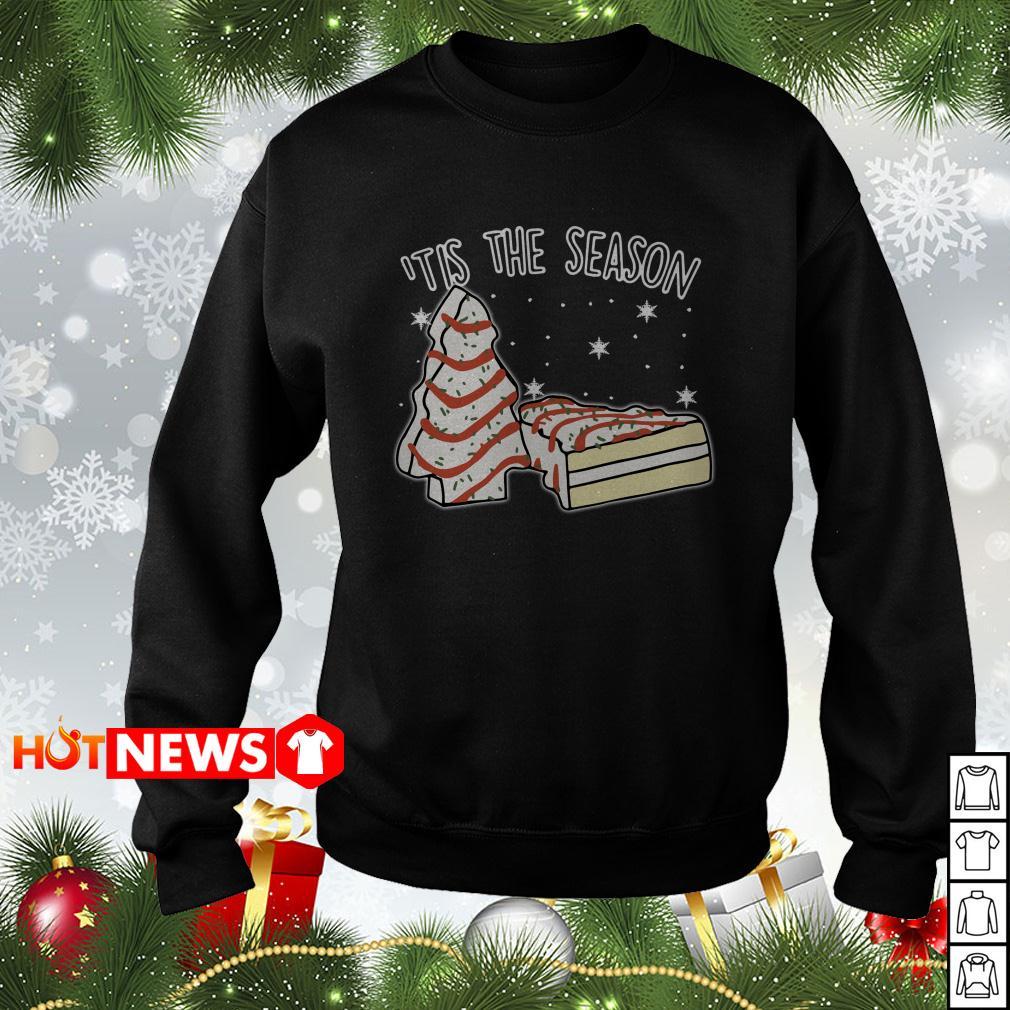 'tis The Season little Debbie Inspired Christmas sweater