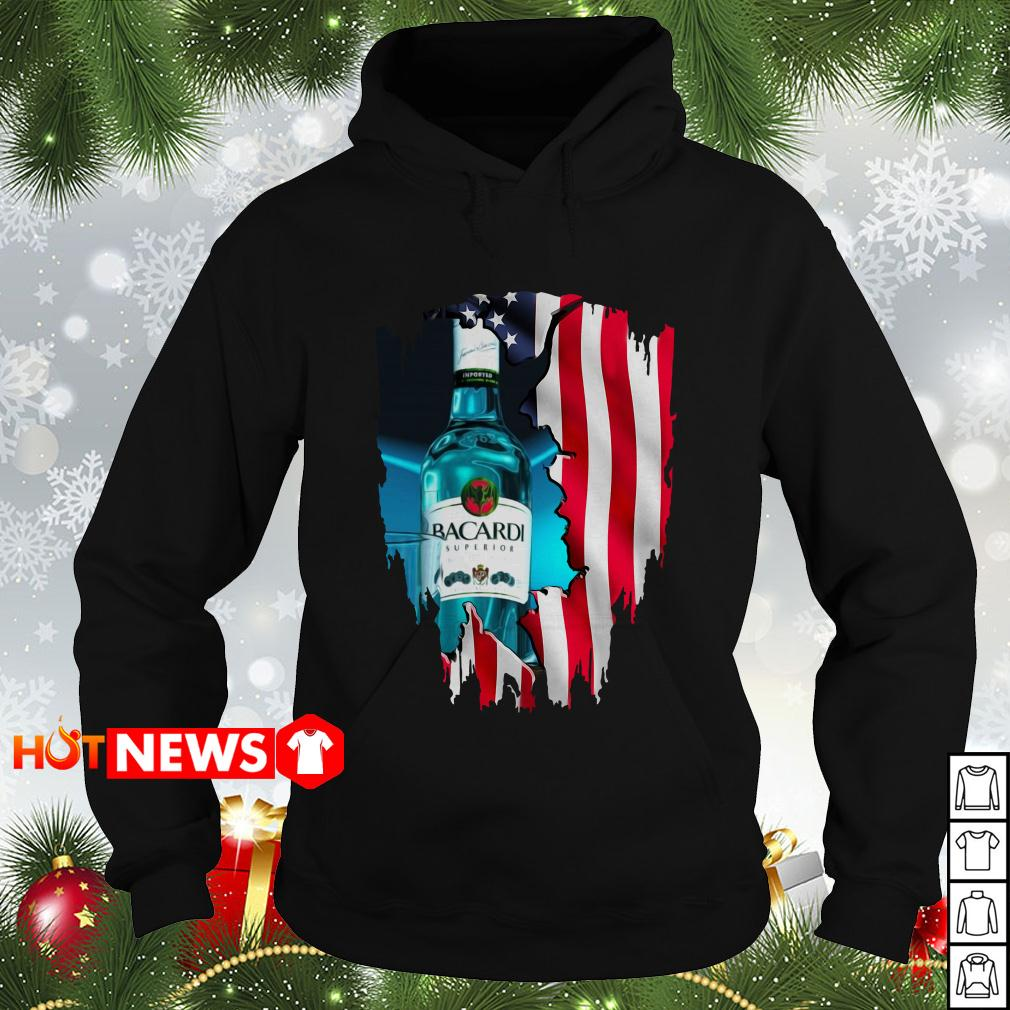 4th Of July independence day Bacardi Superior Wine Hoodie