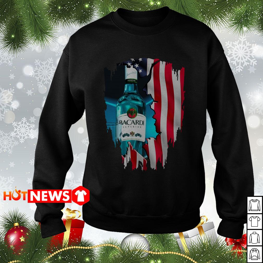 4th Of July independence day Bacardi Superior Wine Sweater