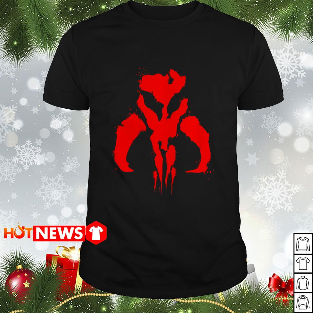 Athena Star Wars Mandalorian Bantha Skull shirt